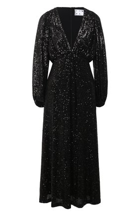 Женское платье с пайетками IN THE MOOD FOR LOVE черного цвета, арт. IRINA DRESS | Фото 1