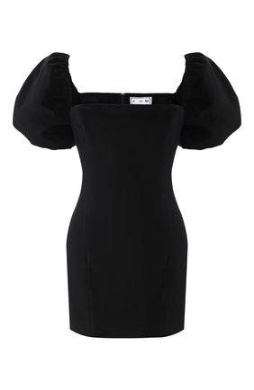 Женское хлопковое платье IN THE MOOD FOR LOVE черного цвета, арт. PRIYA DRESS | Фото 1