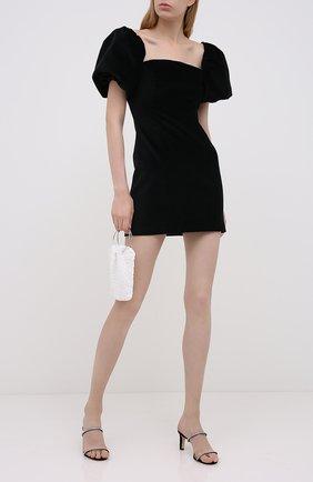 Женское хлопковое платье IN THE MOOD FOR LOVE черного цвета, арт. PRIYA DRESS | Фото 2