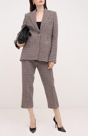 Женская кожаные туфли love 100 JIMMY CHOO черного цвета, арт. L0VE 100/XNS | Фото 2