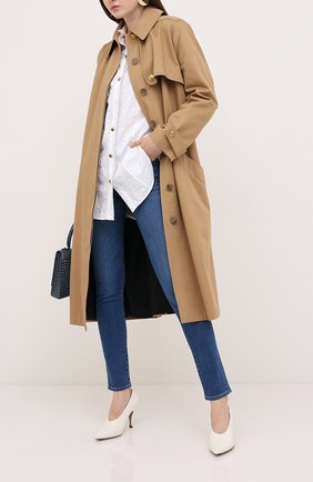 Женские джинсы VALENTINO голубого цвета, арт. UB3DD10J4MY | Фото 2