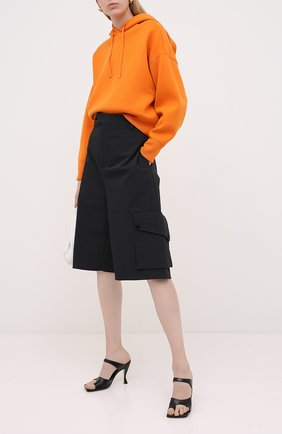 Женская худи VALENTINO оранжевого цвета, арт. UB3KC15N5ML   Фото 2