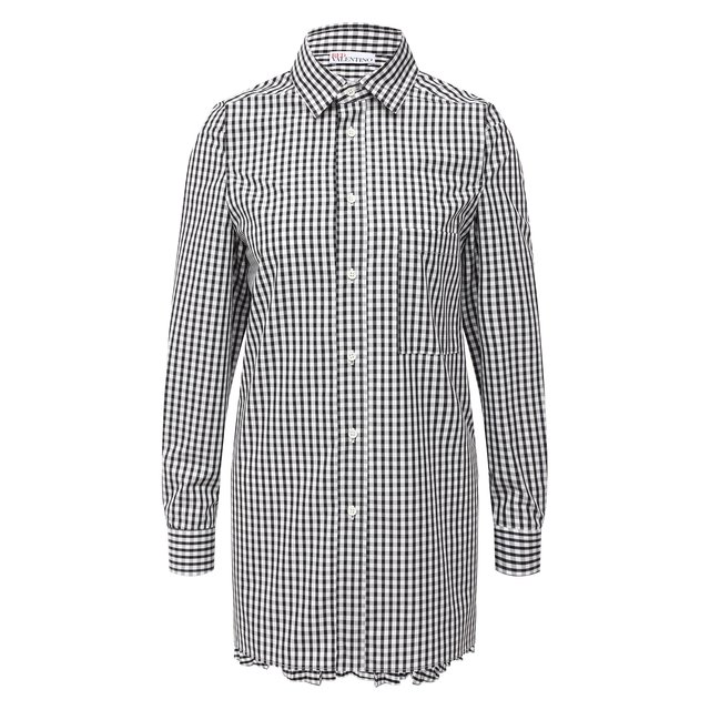 Хлопковая рубашка REDVALENTINO