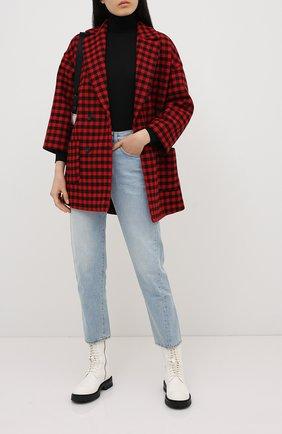 Женское шерстяное пальто REDVALENTINO красного цвета, арт. UR3CA155/55U | Фото 2