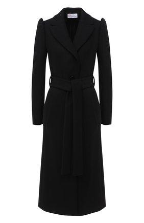 Женское шерстяное пальто REDVALENTINO черного цвета, арт. UR3CAC10/560 | Фото 1