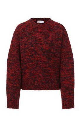 Женский шерстяной свитер REDVALENTINO красного цвета, арт. UR3KC00M/58C | Фото 1