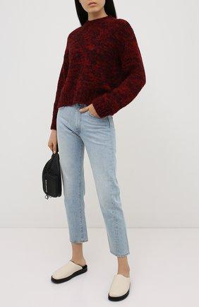 Женский шерстяной свитер REDVALENTINO красного цвета, арт. UR3KC00M/58C | Фото 2
