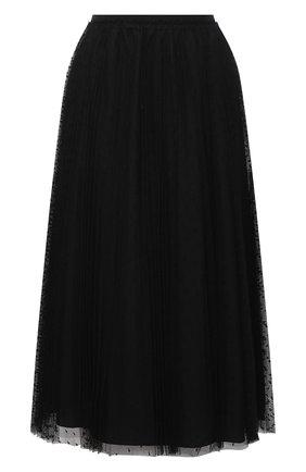 Женская юбка REDVALENTINO черного цвета, арт. UR3RAC20/428   Фото 1