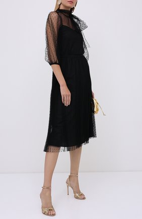 Женская юбка REDVALENTINO черного цвета, арт. UR3RAC20/428   Фото 2