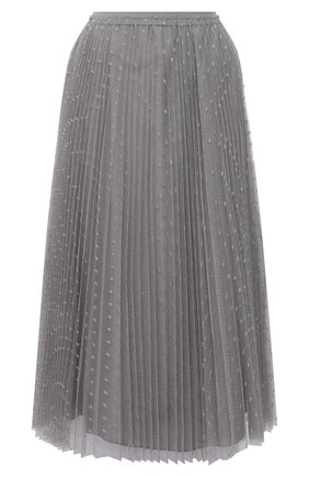 Женская юбка REDVALENTINO серого цвета, арт. UR3RAC20/428 | Фото 1