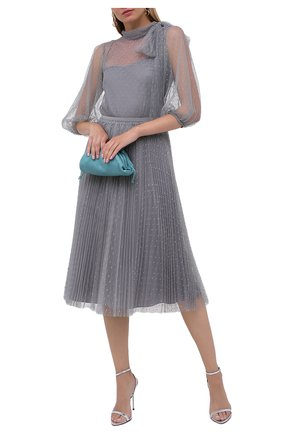 Женская юбка REDVALENTINO серого цвета, арт. UR3RAC20/428 | Фото 2