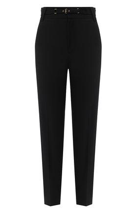 Женские брюки из вискозы REDVALENTINO черного цвета, арт. UR3RBC65/WBP | Фото 1