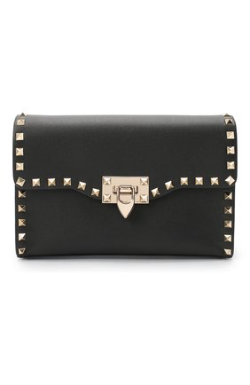 Женская сумка rockstud VALENTINO черного цвета, арт. UW2B0181/B0L   Фото 1