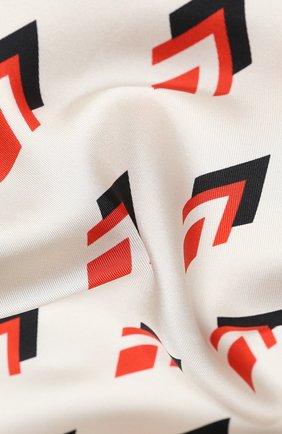 Женский шелковый платок valentino garavani VALENTINO белого цвета, арт. UW2EI114/VMM | Фото 2
