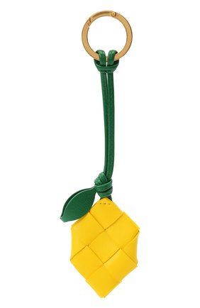 Женский брелок BOTTEGA VENETA желтого цвета, арт. 619088/VCQC2 | Фото 1