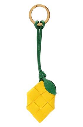 Женский брелок BOTTEGA VENETA желтого цвета, арт. 619088/VCQC2 | Фото 2