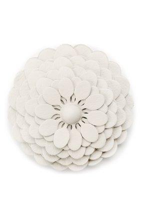 Женские украшение для сумки stud flower LOEWE белого цвета, арт. N691232X02 | Фото 1 (Ошибки технического описания: Нет высоты, Нет глубины, Нет ширины; Кросс-КТ: наклейка-сумка)