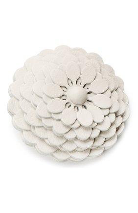 Женские украшение для сумки stud flower LOEWE белого цвета, арт. N691232X02 | Фото 2 (Ошибки технического описания: Нет высоты, Нет глубины, Нет ширины; Кросс-КТ: наклейка-сумка)