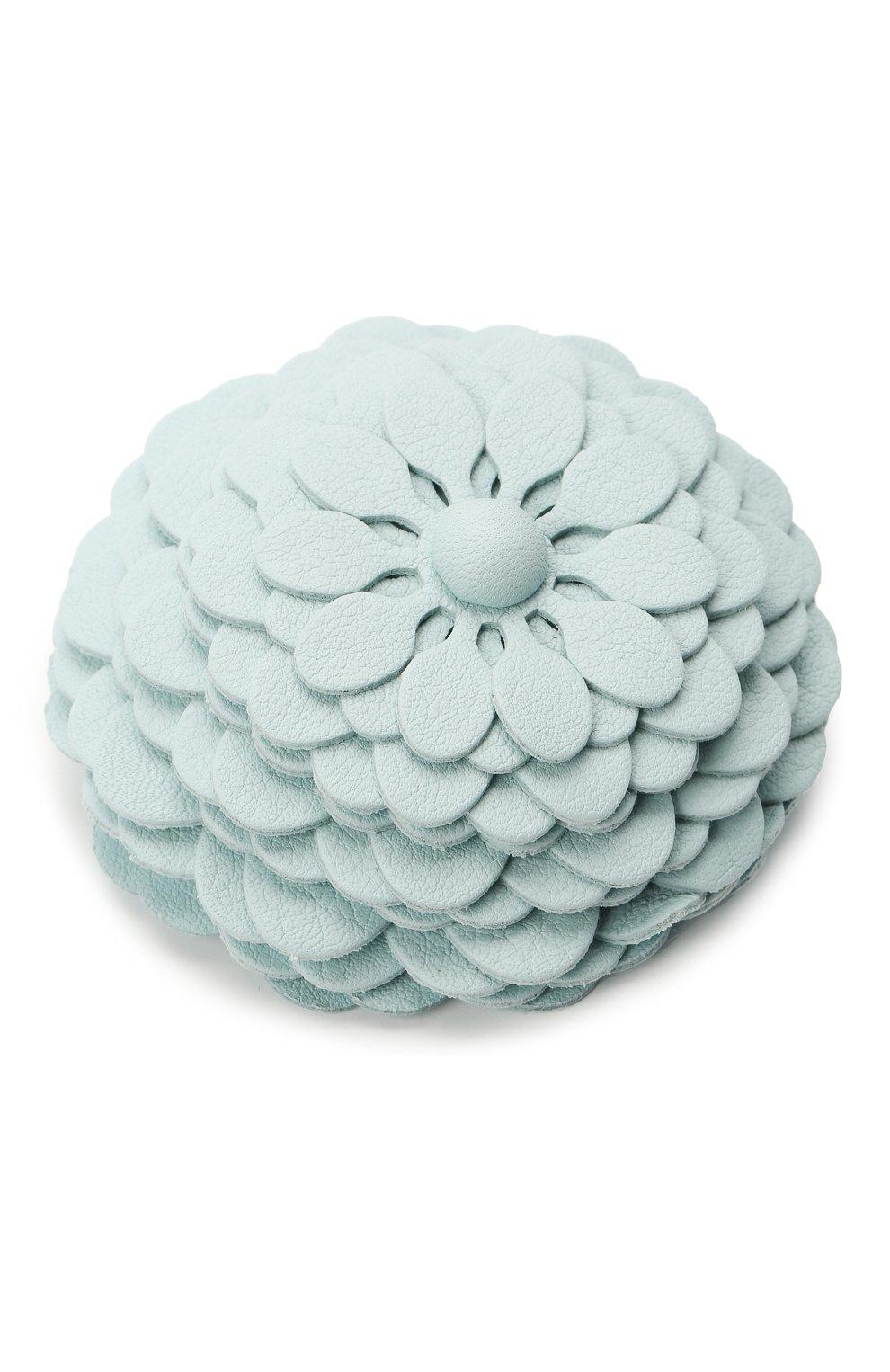 Женские украшение для сумки stud flower LOEWE голубого цвета, арт. N691232X02   Фото 2
