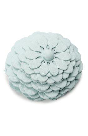 Женские украшение для сумки stud flower LOEWE голубого цвета, арт. N691232X02 | Фото 2