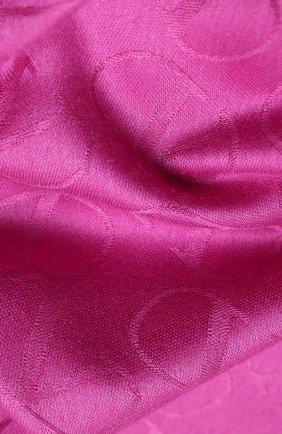 Мужские шарф из шелка и кашемира valentino garavani VALENTINO розового цвета, арт. UW2ED007/NID | Фото 2