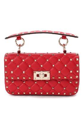 Женская сумка valentino garavani rockstud spike VALENTINO красного цвета, арт. UW2B0123/NAP | Фото 1