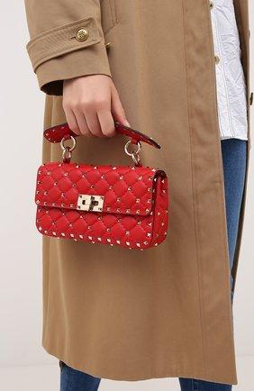 Женская сумка valentino garavani rockstud spike VALENTINO красного цвета, арт. UW2B0123/NAP | Фото 2