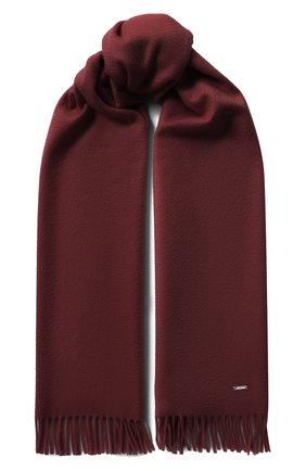 Женский кашемировый шарф grande unita LORO PIANA темно-бордового цвета, арт. FAA1056 | Фото 1 (Материал: Кашемир, Шерсть; Принт: Без принта)
