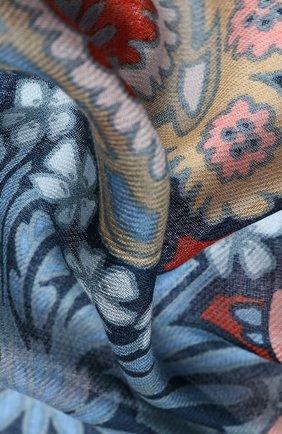 Женская шаль из кашемира и шелка majorelle soffio LORO PIANA синего цвета, арт. FAI9906 | Фото 2