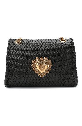 Женская сумка devotion DOLCE & GABBANA черного цвета, арт. BB6728/AX813 | Фото 1