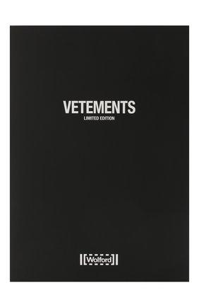 Женские капроновые колготки VETEMENTS черного цвета, арт. WAH21AC302 1379/BLACK | Фото 1