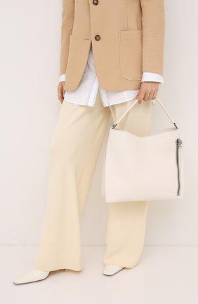 Женская сумка alix medium TOM FORD белого цвета, арт. L0810R-CD6 | Фото 2