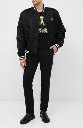 Мужские кожаные челси valentino garavani VALENTINO черного цвета, арт. UY2S0D63/WMX | Фото 2