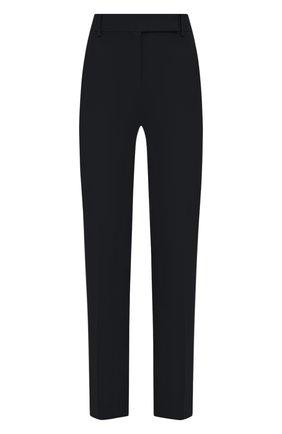 Женские шерстяные брюки VALENTINO синего цвета, арт. UB3RB3W154S   Фото 1
