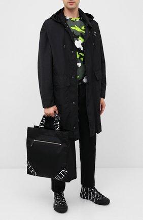 Мужская текстильная сумка valentino garavani VALENTINO черного цвета, арт. UY2B0883/RPY | Фото 2