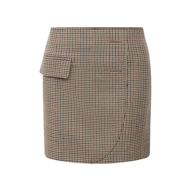 Шерстяная юбка Vetements