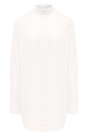 Женское платье с пайетками IN THE MOOD FOR LOVE белого цвета, арт. MARCEAU DRESS | Фото 1