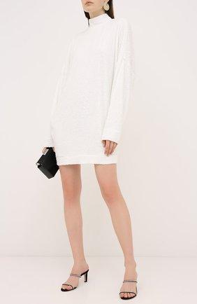 Женское платье с пайетками IN THE MOOD FOR LOVE белого цвета, арт. MARCEAU DRESS | Фото 2