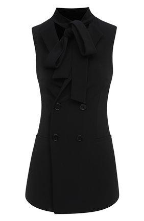 Женский жилет REDVALENTINO черного цвета, арт. UR3CFA00/2EU | Фото 1