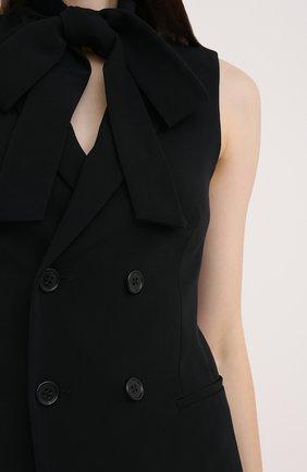 Женский жилет REDVALENTINO черного цвета, арт. UR3CFA00/2EU | Фото 5