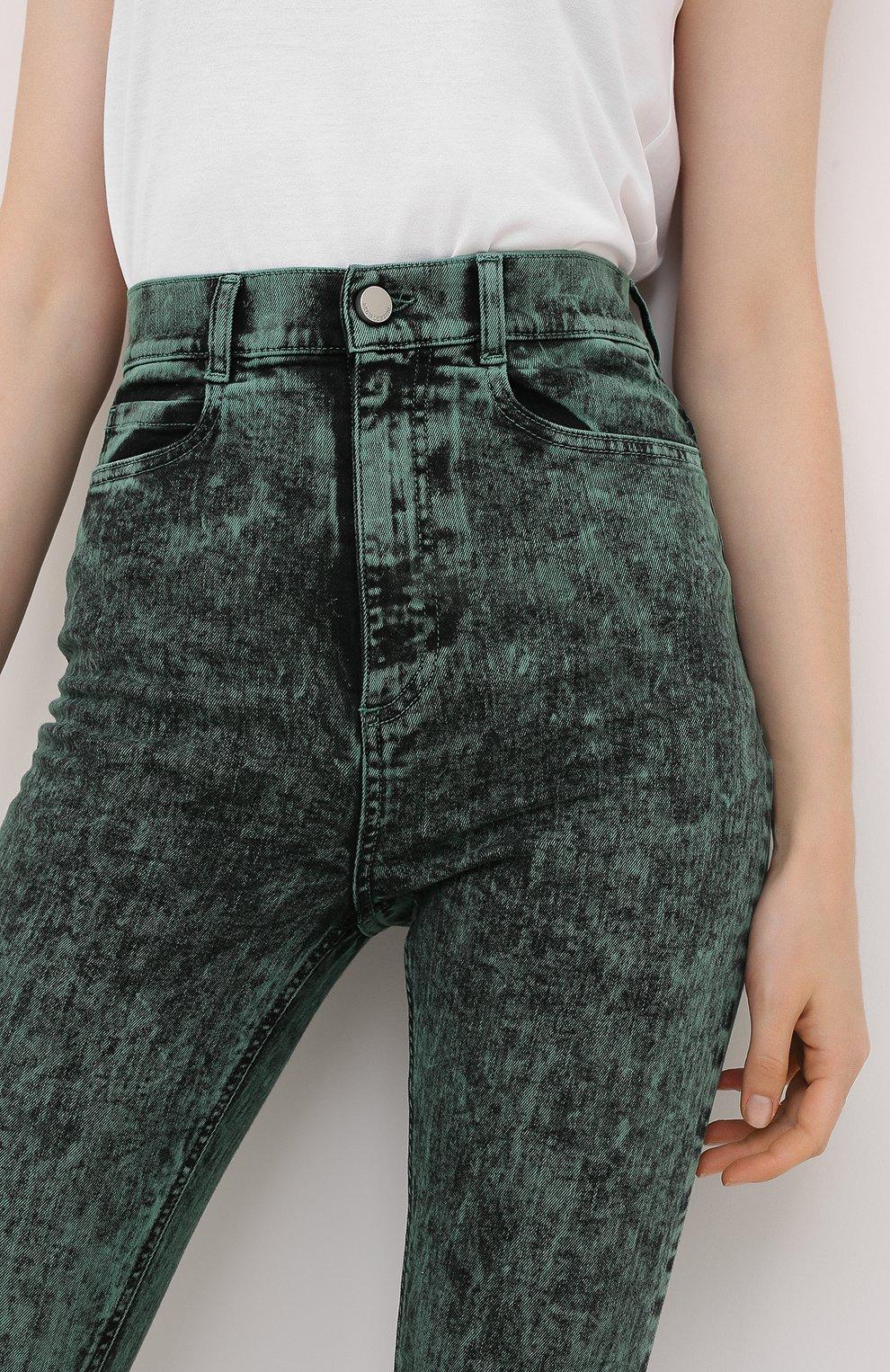 Женские джинсы REDVALENTINO зеленого цвета, арт. UR3DE01H/58V   Фото 5
