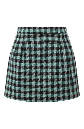 Женские юбка-шорты REDVALENTINO зеленого цвета, арт. UR3RFD70/55U | Фото 1