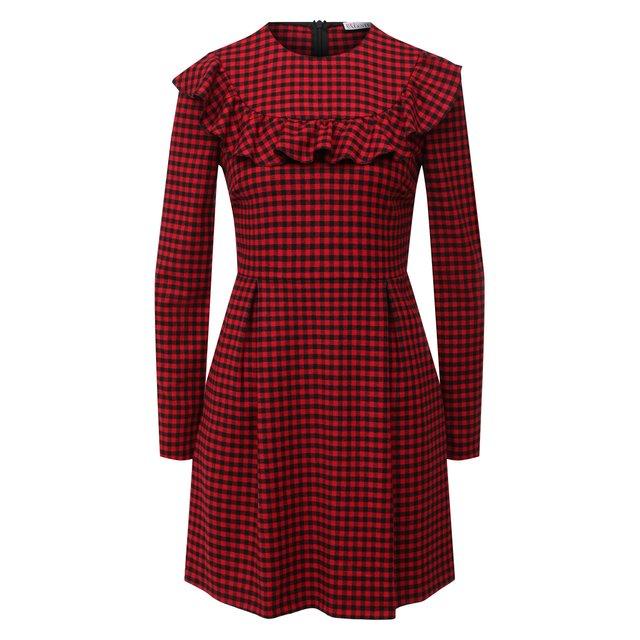 Платье из вискозы и шерсти REDVALENTINO