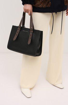 Женская сумка super vee BRUNELLO CUCINELLI черного цвета, арт. MBVND2177P | Фото 2