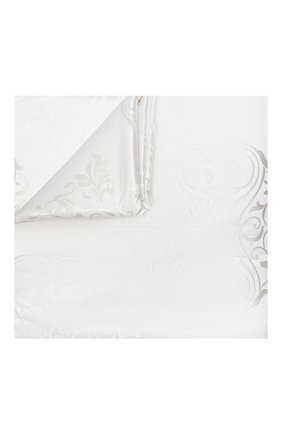Мужского покрывало из шелка и хлопка FRETTE белого цвета, арт. FR6647 F2100 270A | Фото 1