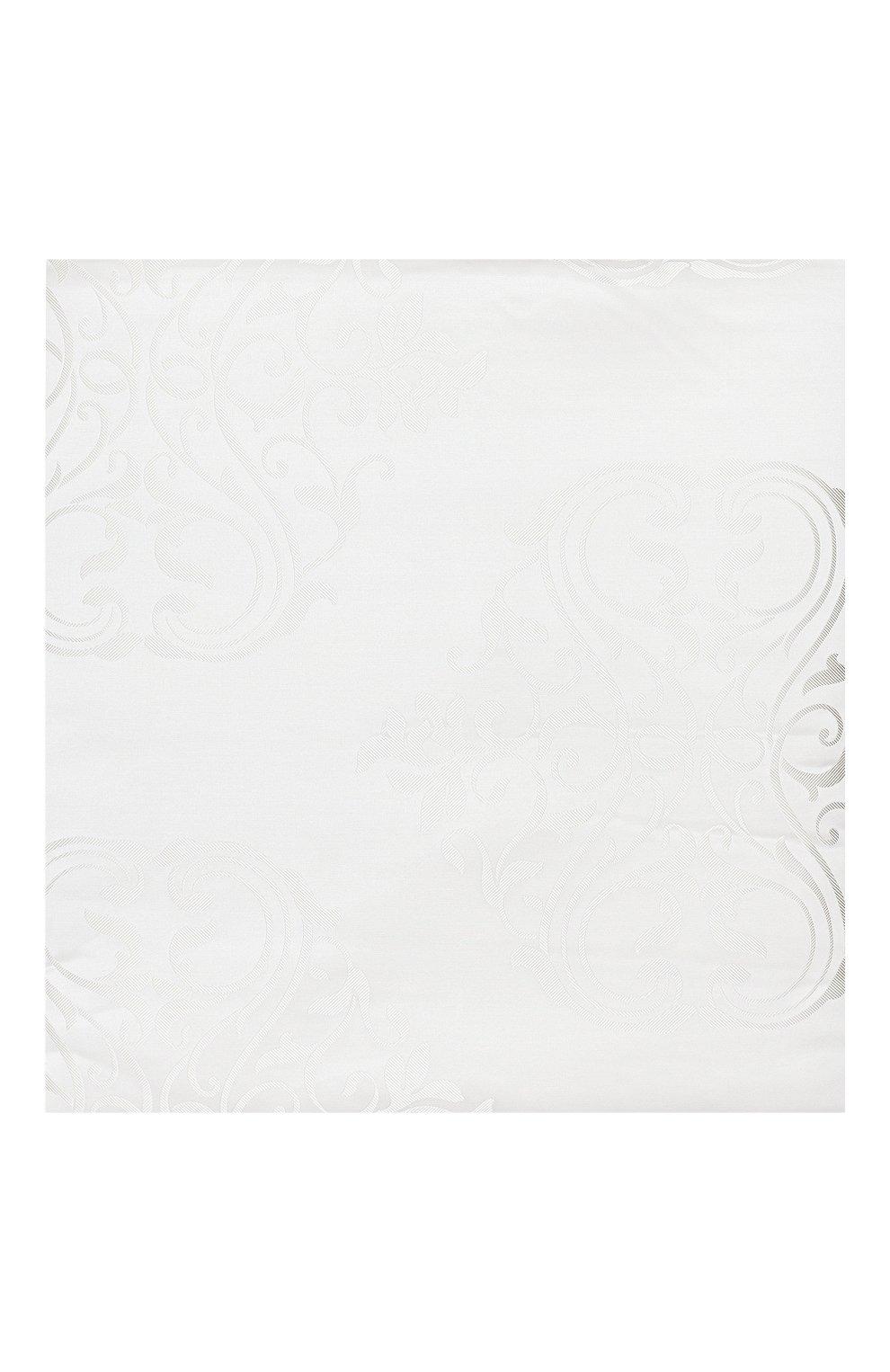 Мужского покрывало из шелка и хлопка FRETTE белого цвета, арт. FR6647 F2100 270A | Фото 2