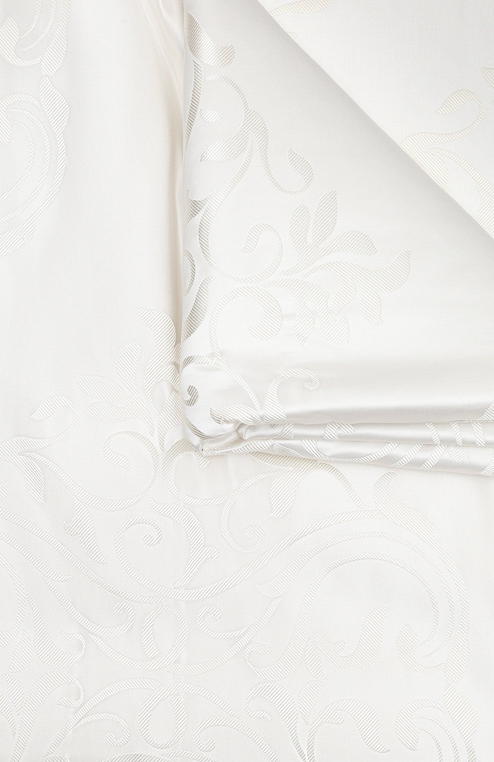 Мужского покрывало из шелка и хлопка FRETTE белого цвета, арт. FR6647 F2100 270A | Фото 3