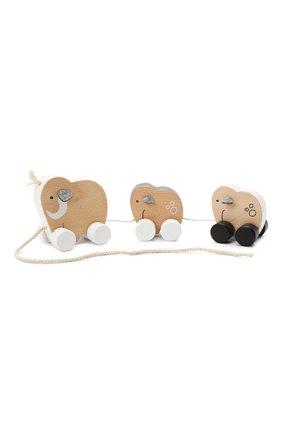 Детского игрушка семья мамонтов KID`S CONCEPT бежевого цвета, арт. 1000080 | Фото 2