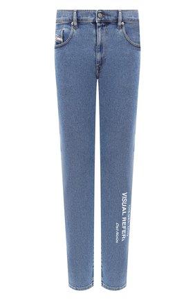 Мужские джинсы DIESEL голубого цвета, арт. A00468/009DX | Фото 1