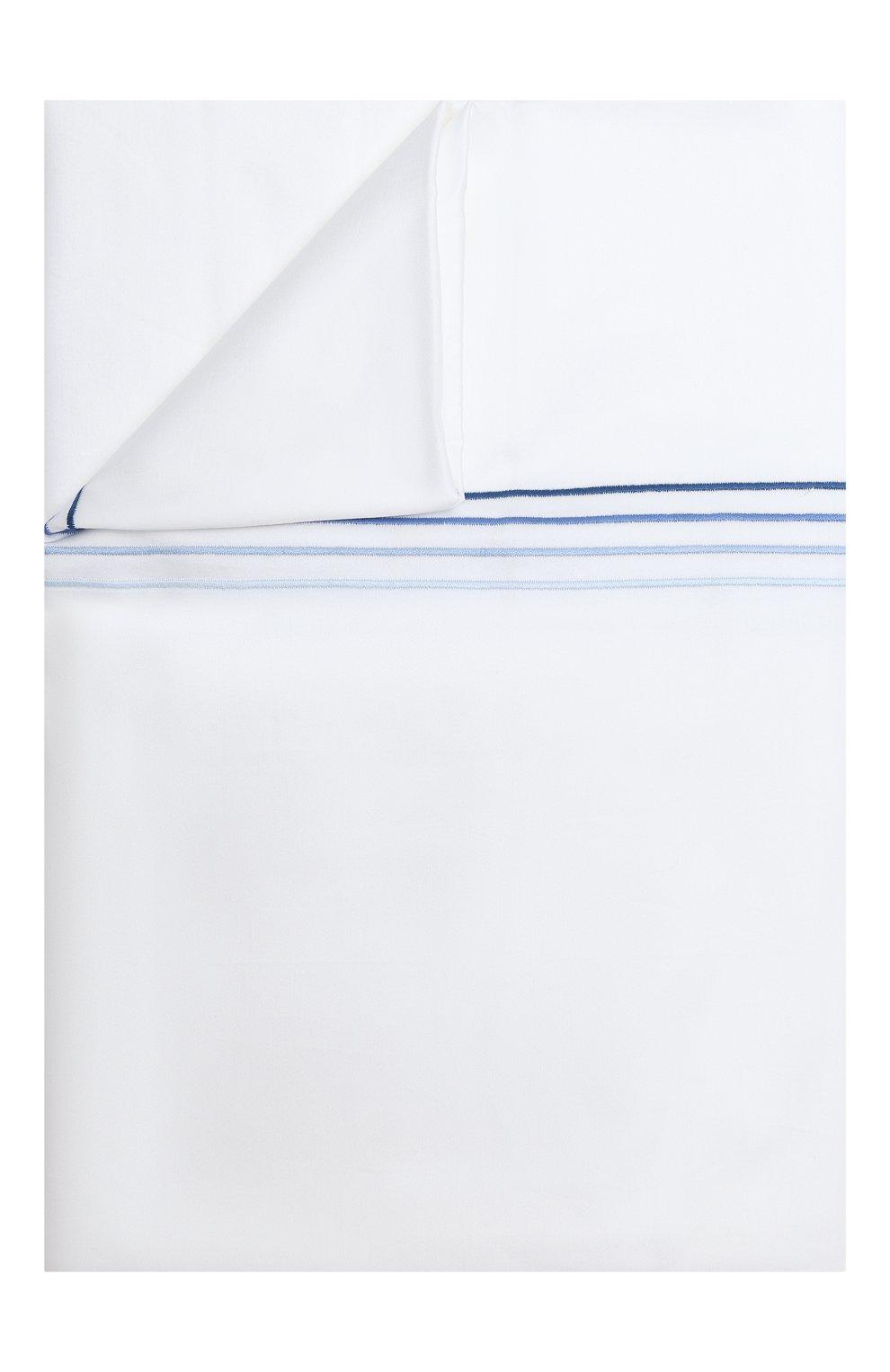 Мужского хлопковый пододеяльник FRETTE синего цвета, арт. F07092 E3600 200A | Фото 1